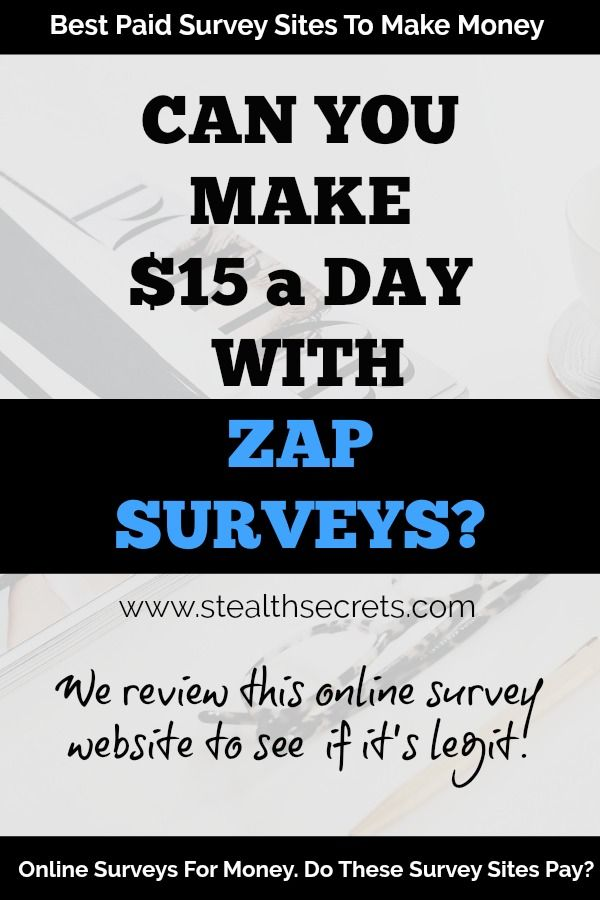 Is Zap Surveys One Of The Best Paid Survey Sites To Make Money We
