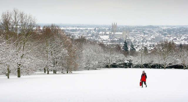 View of the Cathedral from University of Kent at Canterbury