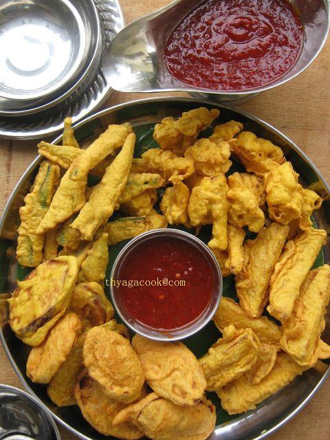 KARI LEAFS ... Malaysian  flavour's: MIX VEGETABLE PAKORA