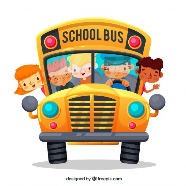 Pin By Tzu Yin Chen On Kids Fun Day Bus Cartoon Cartoon School