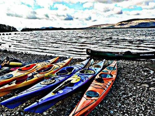 Kayak Loch Lomond