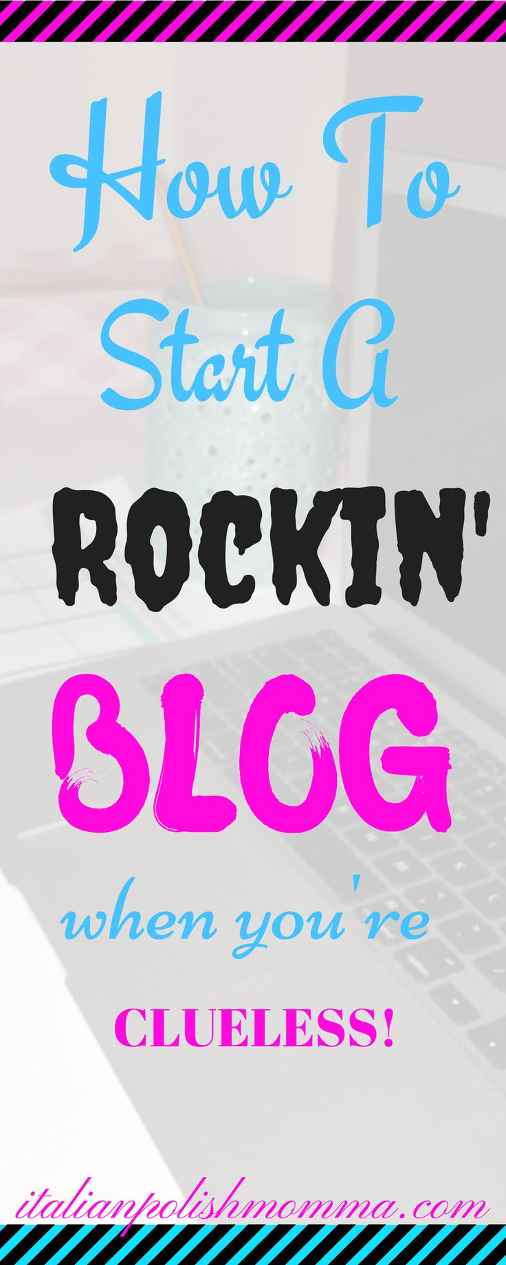 Want to start a rockin' blog? Click here for a step by step guide that will show you how to start your blog in no time! This guide is great for beginners and will get help you start your journey to making money online with a blog!