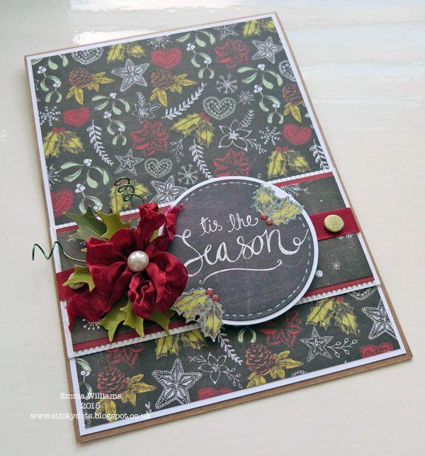 Craftwork Cards Blog: Tis The Season by Emma Williams