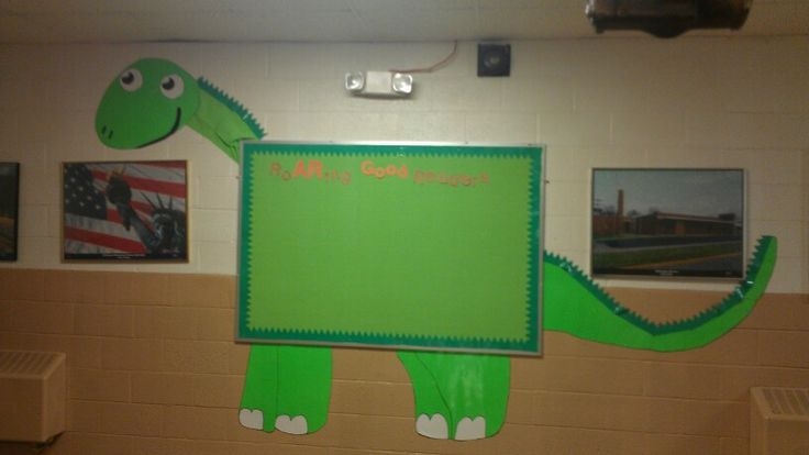 Dinosaur Bulletin Board - Great for Pre-K Complete's Dinosaur theme! Repinned by Pre-K Complete - follow us on our blog, FB, Twitter, & Google Plus!
