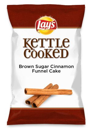 Wouldn't Brown Sugar Cinnamon Funnel Cake be yummy as a chip? Lay's Do Us A …