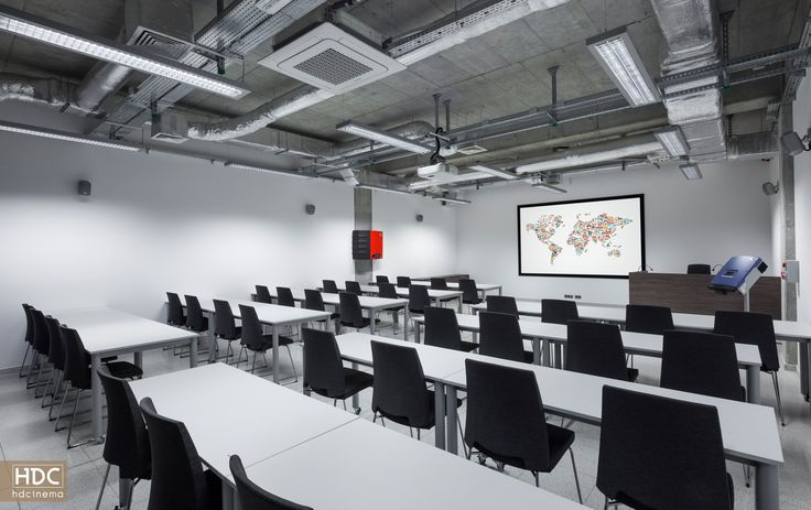 DTW w Zabierzowie wyposażenie kompleksu sal konferencyjnych. Fully equipped multimedia conference complex. #art #technology #multimedia #conference #konferencja #technologia #newtechnology #design #equipment #decorative
