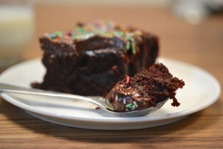 langpannes sjokoladekake fra Siw:)