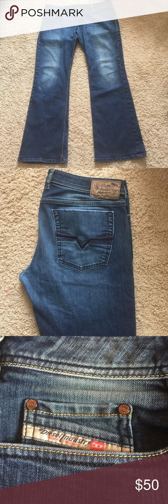 Zathan Deisel jeans In excellent condition Diesel Jeans Bootcut