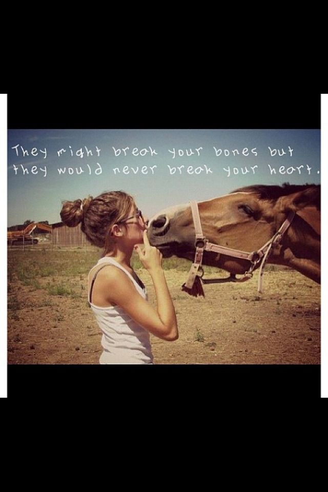 My Daddy use to say this all the time when I was in high school--he got me a horse!