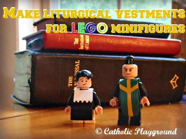 DIY Catholic Lego clothes Transform