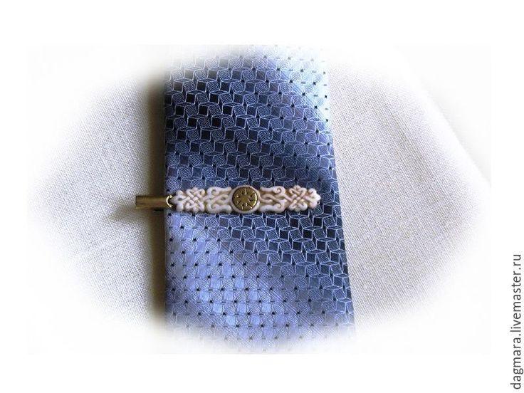 """Купить Зажим для галстука """"Коловрат"""" - зажим для галстука, заколка для галстука, заколка для шарфа, мужской аксессуар"""