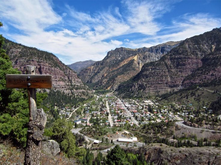 box canyon ouray overlook