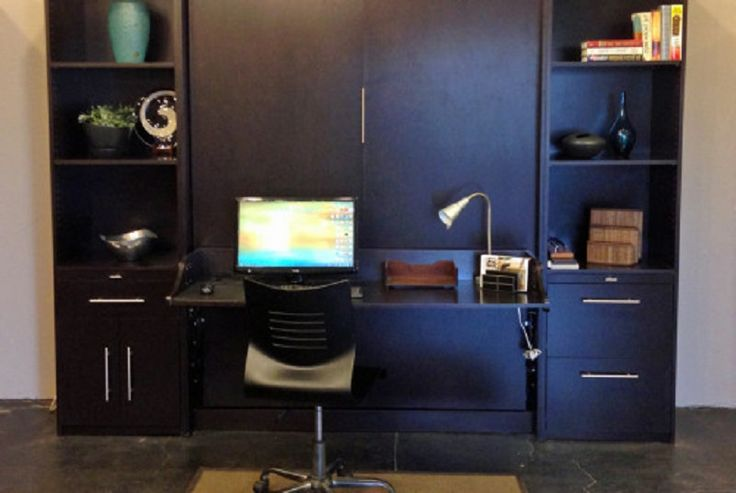 Murphy Bed Office Desk Combo : Images about murphy bed desk combo on