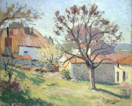 Printemps Lumière de Paul Madeline (1863-1920, France)