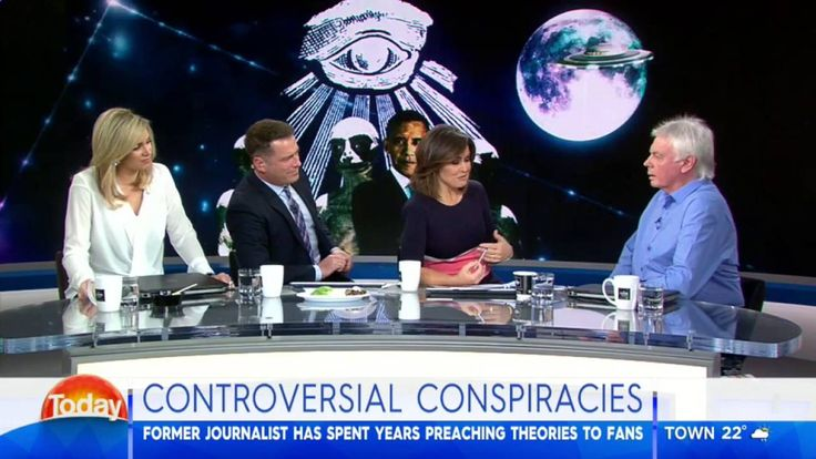 Conspiracy theorist David Icke clashes with TODAY Show hosts over aliens...