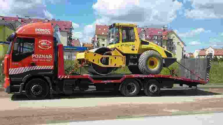 Specjalistyczny transport maszyn budowlanych, transport maszyn rolniczych oraz wszelkich urządzeń wielkogabarytowych. Wieloletnie doświadczenie w przewozie