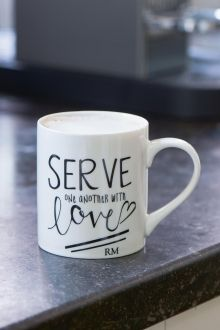 Coming Soon | Rivièra Maison Serve With Love Mug