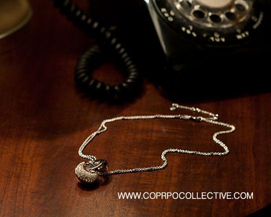 "www.corpocollective.com ""Hope"" White Topaz Pendant, LINKS OF LONDON. PHOTOGRAPHY: Zac Pantalone"