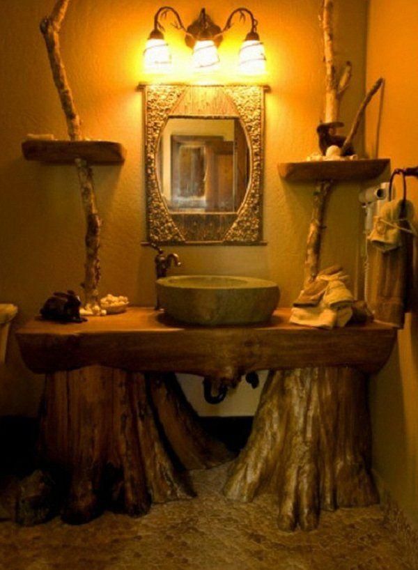 Die 25 besten ideen zu rustikale spiegel auf pinterest - Rustikaler spiegel ...