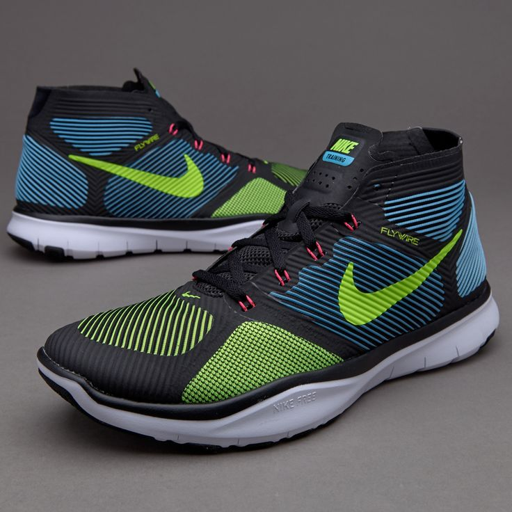 Nike Free Train Instinct - Black/Electric Green/Gamma Blue/Hyper Pink