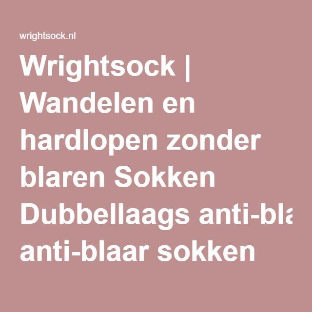 Wrightsock | Wandelen en hardlopen zonder blaren Sokken Dubbellaags anti-blaar sokken
