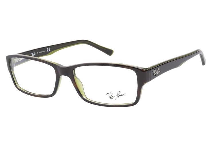 Ray-Ban 5169 2383 Top Havana Green eyeglasses. Get low prices, superior customer service, fast shipping and high quality, authentic products. from @CoastalDotCom