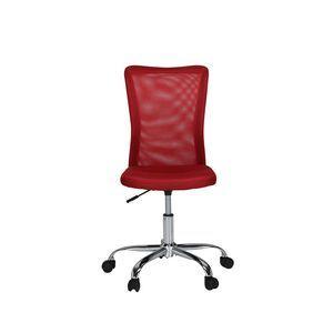 Antrim Mesh Task Chair Red   Officeworks