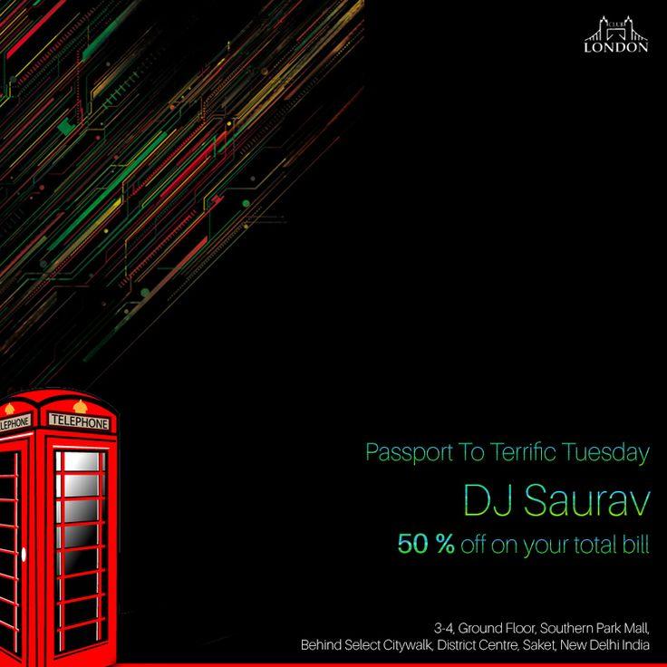 Day Jam Alert ! Dj Saurav Spinning your favourite tunes @ClubLondonSaket | 1 PM Onwards | #partyontheplaza #Delhi