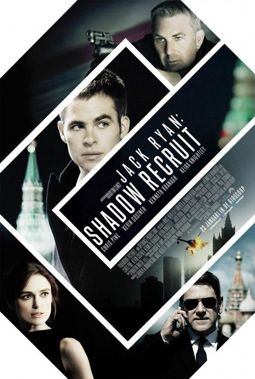 Jack Ryan: Shadow Recruit, is a new movie based on Tom Clansy's story. This time we see Chris Pine as Jack Ryan. We also see Kevin Costner as the CIA agent that recruited him and Keira Knightly as his girlfriend. This movie had it's turns and tons of action and the action never overwhelmed the movie, still partly easy to guess. This movie really shows the core of human spirit, if you really want something and really put your mind in to it, you will succeed. #JackRyan #AndeoX