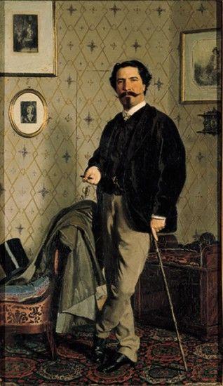 Giovanni Boldini, Ritratto di Cristiano Banti, 1865-66. Galleria Nazionale di Arte Moderna, Firenze.
