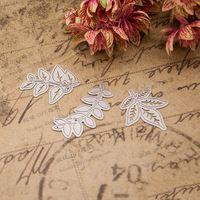 Foglie di metallo disegno Taglio Muore Stencil per DIY Scrapbooking/photo album Decorative Goffratura Carte di Carta FAI DA TE