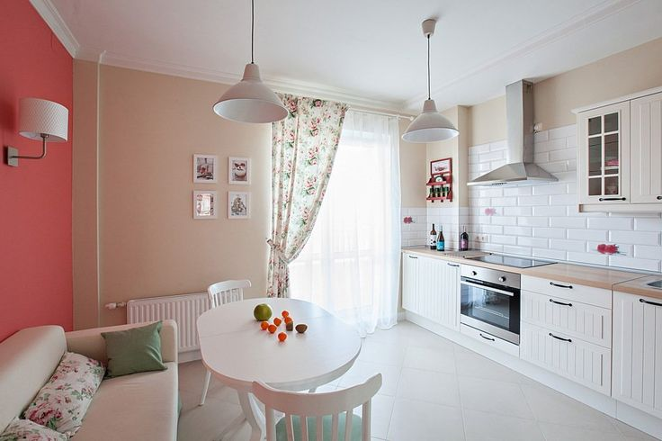 Бра в обеденной зоне..?           Фотография - Кухня и столовая, стиль: Кантри   InMyRoom.ru