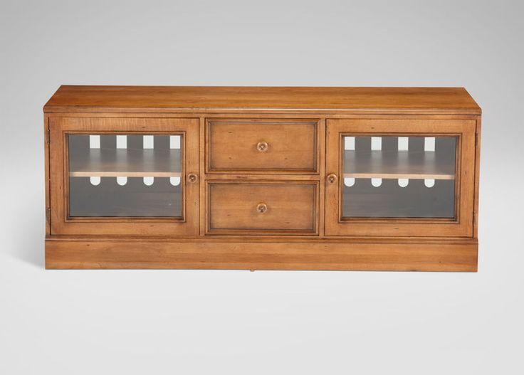 """Wagner Media Cabinet     Details http://www.ethanallen.com/en_US/shop-furniture-living-room-media-cabinets/wagner-media-cabinet/339671_610.html  Item #: 339671_610    $1,769.00      Dimensions: 60""""w x 23""""h x 21.50""""d"""
