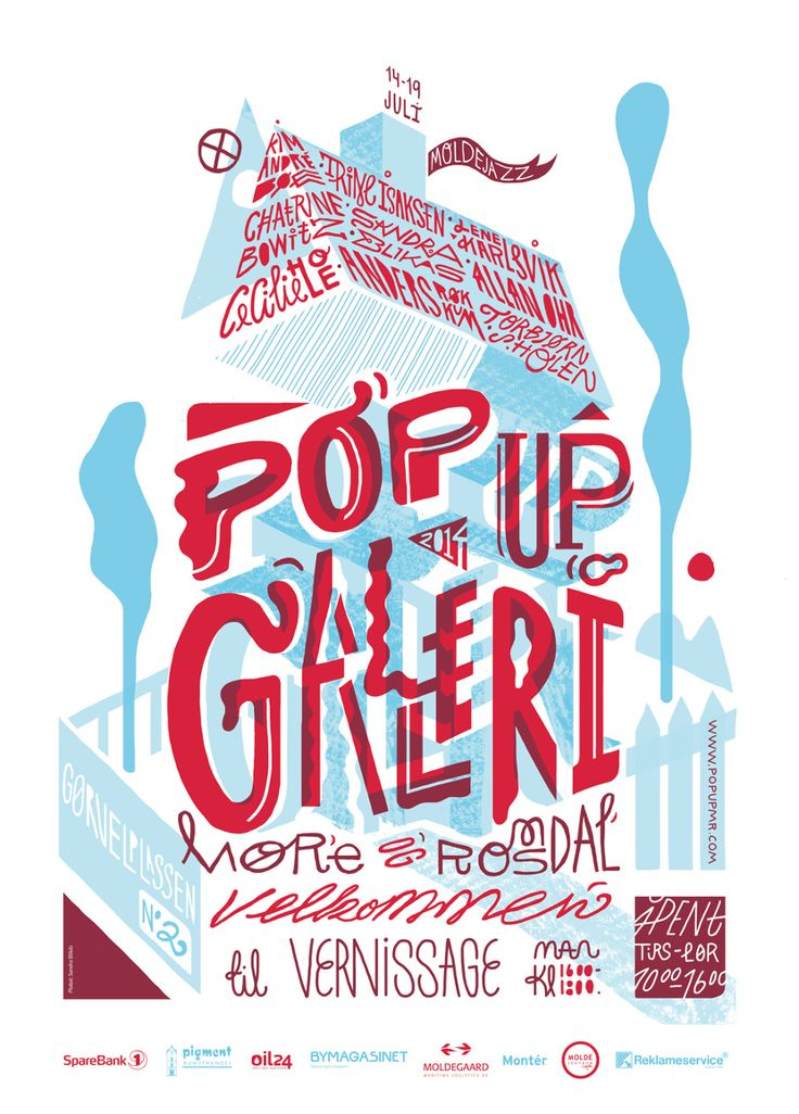 Gallery poster , Sandra Blikås