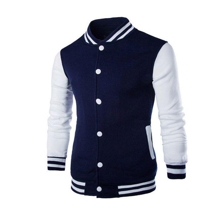 Slim Baseball Jacket (2 colors)