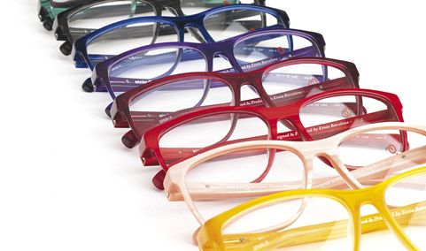 """Currently we are working with more than 500 color references, each one of which has been designed by the Etnia Barcelona creative team and produced at the Mazzucchelli (Italy) acetate factory, carefully selecting the pigments to establish a """"rainbow"""" range with a futuristic approach."""