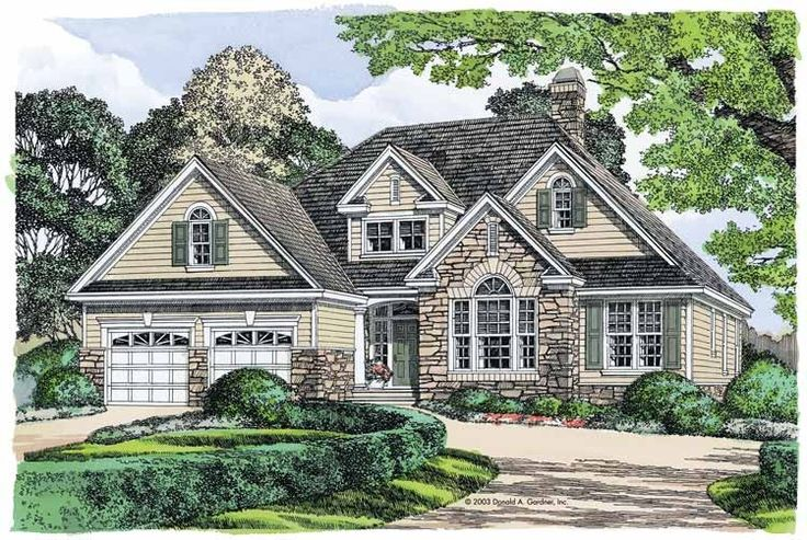 Eplans French Country House Plan Strong Stone Facade
