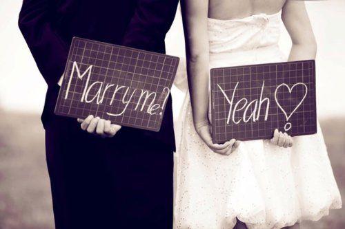 Marry me ... Yeah!!!