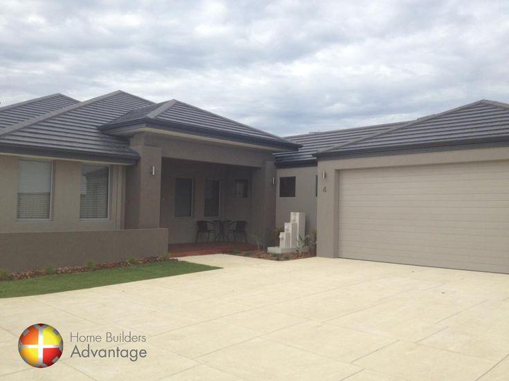 Home Builders Advantage- Perth's Biggest Building Broker- Front Elevation Designs- www.homebuildersadvantage.com.au