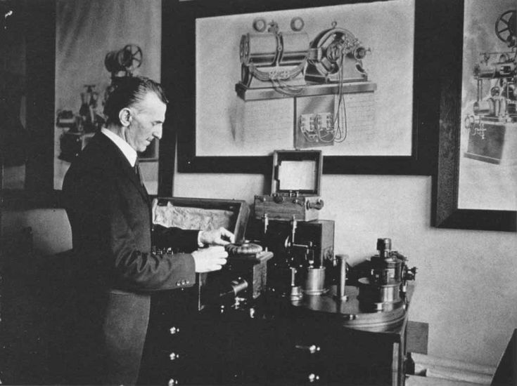 Nikola Tesla and his invention