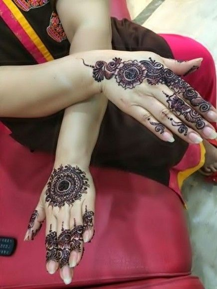 Eid ul Adha Beautiful Mehndi Designs