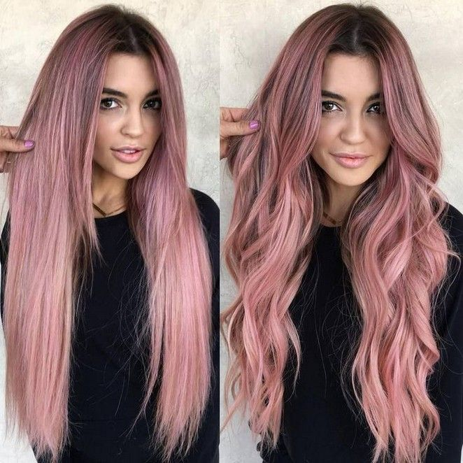 120 Hottest Highlights For Brown Hair To Enhance Your Features 11 Telorecipe212 Com Hair Color Pink Hair Styles Cool Hair Color