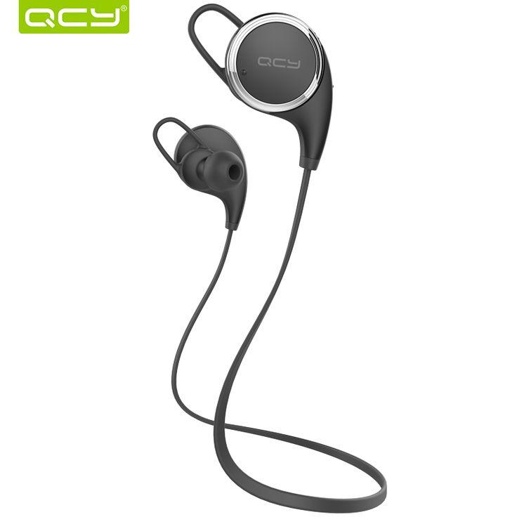 QCY QY8 Английский спортивные наушники беспроводная связь bluetooth 4.1 наушники aptX гарнитура с Микрофоном звонки mp3 музыка наушники для ios androidкупить в магазине QCY official storeнаAliExpress