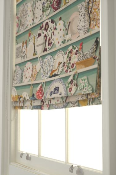 Roman Blinds Emma Bridgewater The Dresser