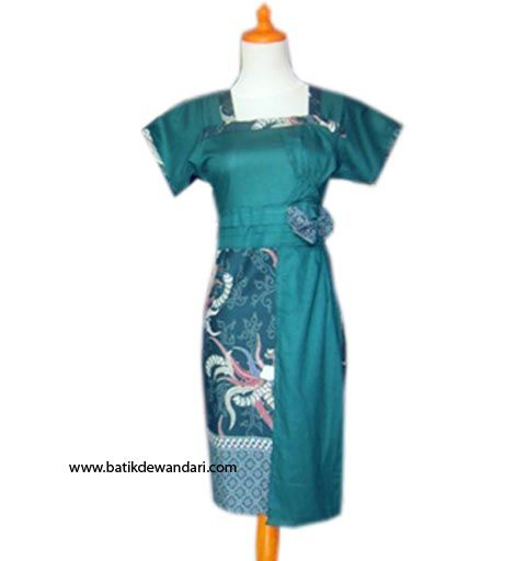 Dress batik wanita modern DBD04