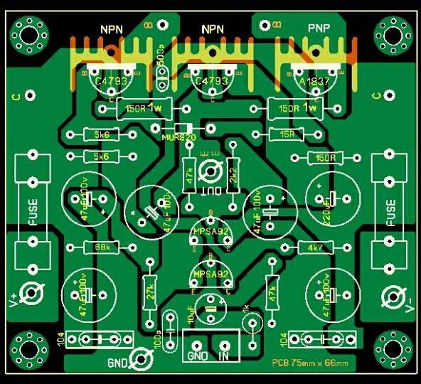 PCB Driver Power Safari
