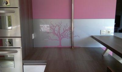 cr dence verre laqu cr dence arbre mort votre cr dence de cuisine est originale montrez. Black Bedroom Furniture Sets. Home Design Ideas