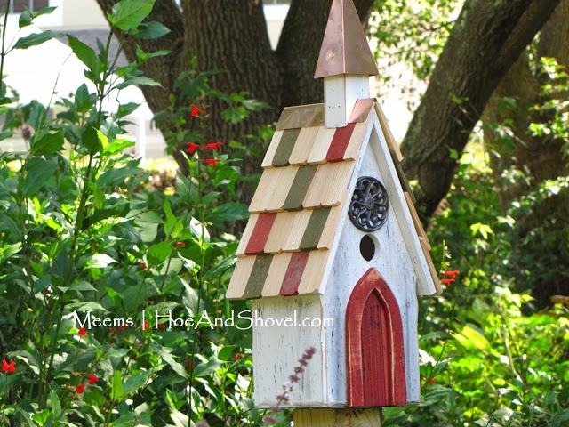 #Birdhouse ~ Hoe and Shovel: Decorative ... Meet Functional