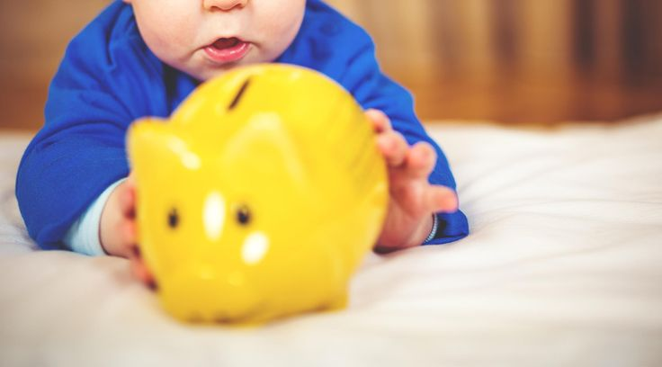 Find out the average cost of baby's first year, and how much parents think it will cost, according to a NerdWallet survey.