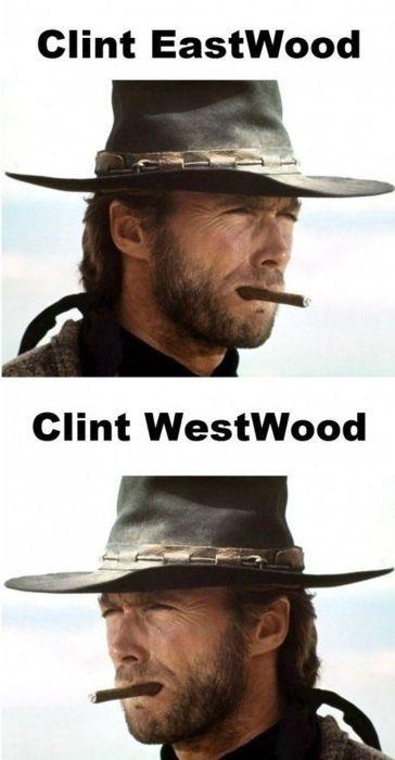 Clint Eastwood, Clint WestwoodLaugh, Thanksclint Eastwood, Funny Stuff, Eastwood Siempre, Humor, Awesome Pin, Clinteastwood, Westwood Awesome, Clint Westwood